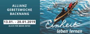 Allianzgebetswoche 2019