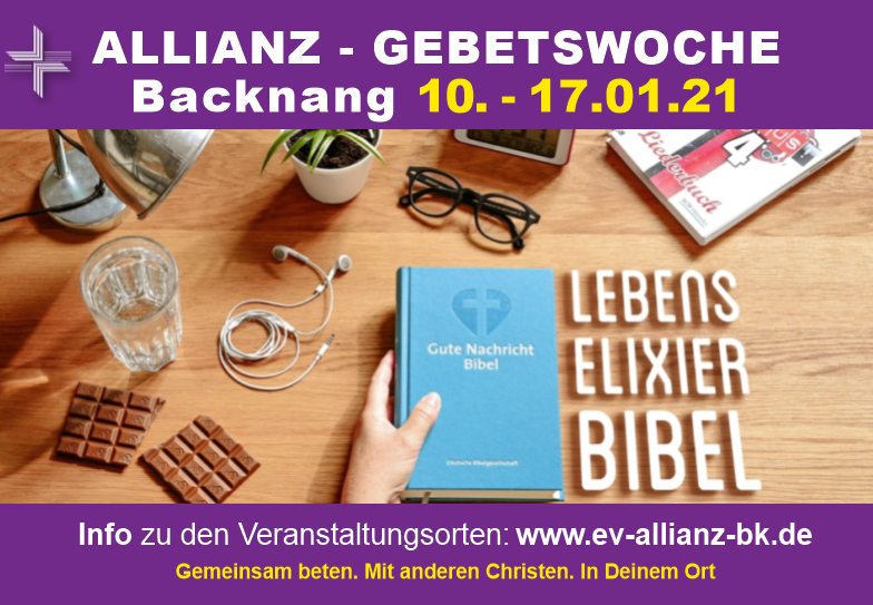 Allianzgebetswoche 2021